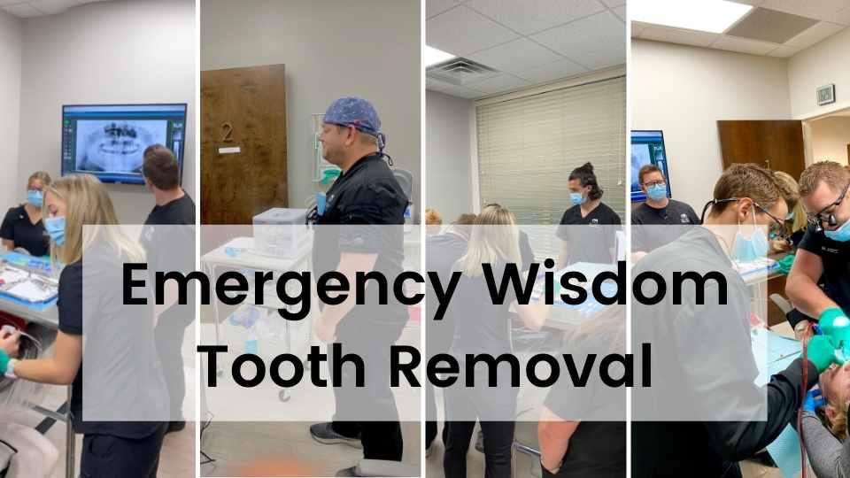 Emergency Wisdom Tooth Removal